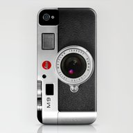 iPhone & iPod Case featuring Classic Retro Black Silv… by Three Second