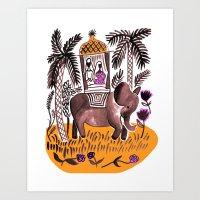 Indian Summer 1 Art Print