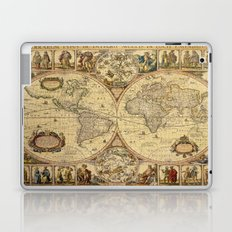 The puzzled world Laptop & iPad Skin