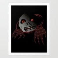 Zelda - Kill The Moon Art Print