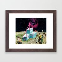 Exibit Framed Art Print