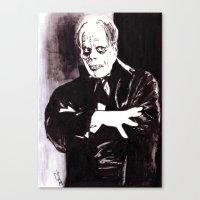 The Phantom Canvas Print