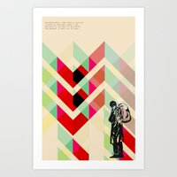 Ian Curtis From Joy Divi… Art Print