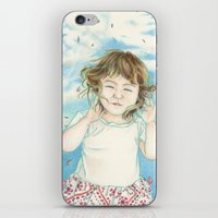 Spring Gust iPhone & iPod Skin