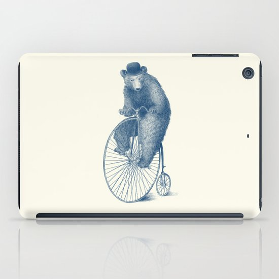 Morning Ride - Blue Option iPad Case