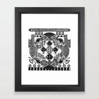 symmetry and a little bit of assymetry Framed Art Print