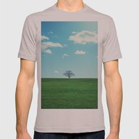 Spring Greens Mens Fitted Tee Cinder SMALL