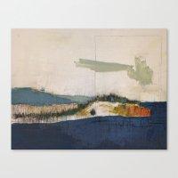 Iron Lake Canvas Print