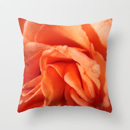 Rosa Vieja Throw Pillow