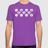 Yummy Cherries Mens Fitted Tee Ultraviolet SMALL