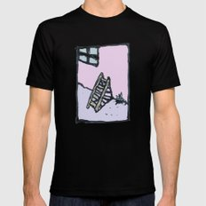 Pastel Memory Mens Fitted Tee Black SMALL