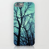 Blue Winter Trees iPhone 6 Slim Case