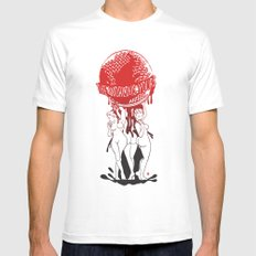 TWIY (TheWorldIsYours)  White SMALL Mens Fitted Tee