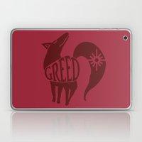 The Fox's Sin of Greed Laptop & iPad Skin