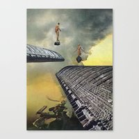 Fires Of Freedom Canvas Print