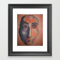 Camel Man Framed Art Print