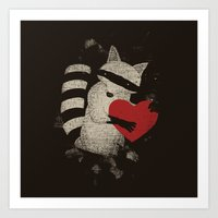 Love Thief Art Print