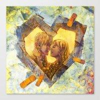 Healing Heart Canvas Print