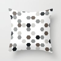 Graphic_Cells Throw Pillow