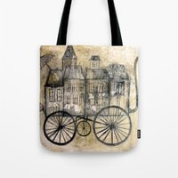 Little Town Transport Tote Bag