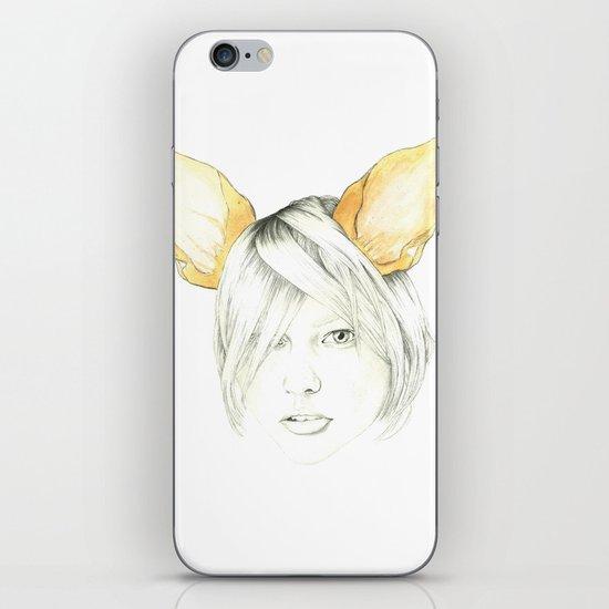 Chihuahua girl iPhone & iPod Skin