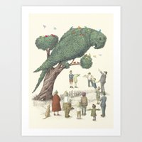The Night Gardener - Par… Art Print