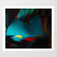 Blue Dusk Art Print