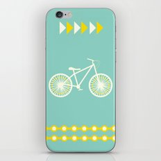 Saturday Bike Ride iPhone & iPod Skin