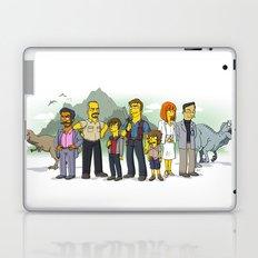 Jurassic World Simpsonized Laptop & iPad Skin