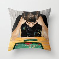 Puzzled Throw Pillow