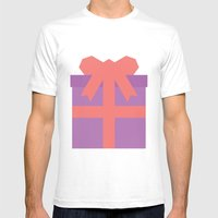 #49 Present Mens Fitted Tee White SMALL