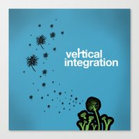 vertical integration Canvas Print