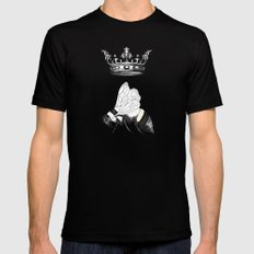 Queen Bee Black SMALL Mens Fitted Tee
