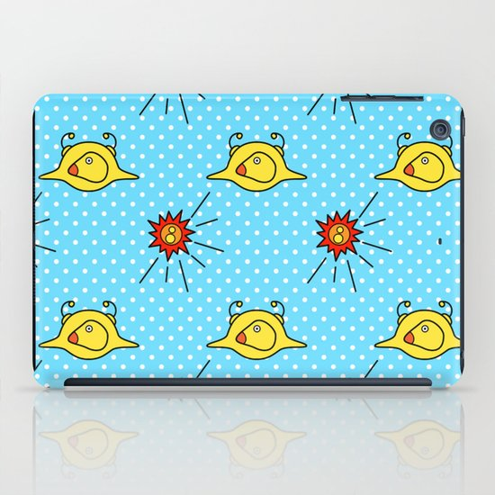 icaro pattern (Joe Pansa/Freshinkstain) iPad Case