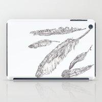 Swedish Feathers iPad Case