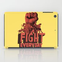 FIGHT EVERYDAY iPad Case