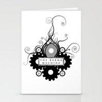 The Karma Machine Stationery Cards