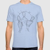 Paralyzed Dream V2 Mens Fitted Tee Tri-Blue SMALL