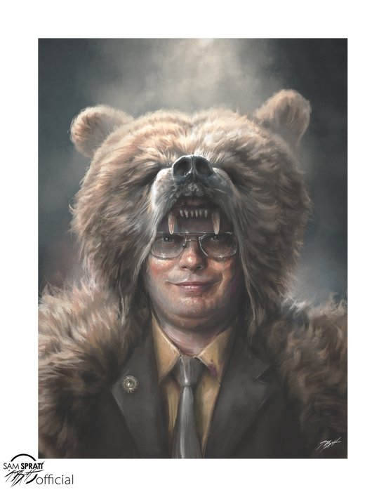 Dwight Schrute Art Print
