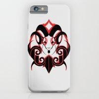 Warrior (Black & Red) iPhone 6 Slim Case