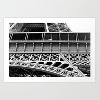 Eiffel Tower Art Print