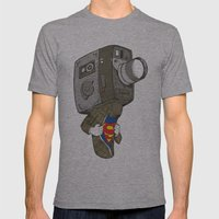 Super8 Mens Fitted Tee Athletic Grey SMALL