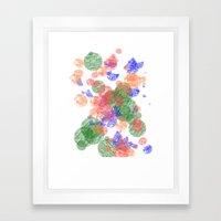 The Bubbles Framed Art Print