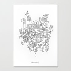 Simplexity Canvas Print