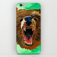 This is a bear iPhone & iPod Skin