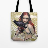 Death By Alex Garant Tote Bag