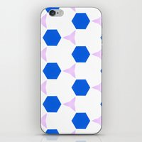 Van Pelt Pattern iPhone & iPod Skin