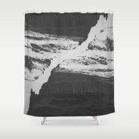 Double Mountain Shower Curtain