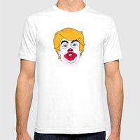 McDonald Trump Mens Fitted Tee White SMALL