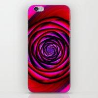 Fractal Rose iPhone & iPod Skin